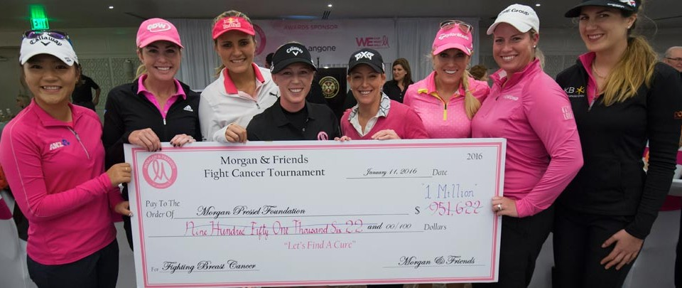 Morgan & Friends $1Million Check