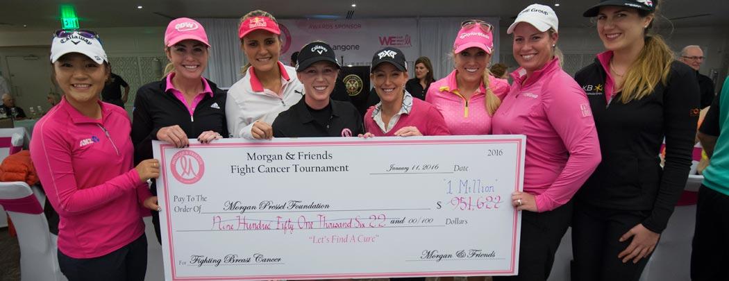 Morgan & Friends $1Million Check
